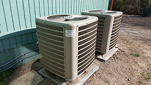 A unit that needs air conditioning repair services in Tulsa, OK, Owasso, OK, or Broken Arrow, OK