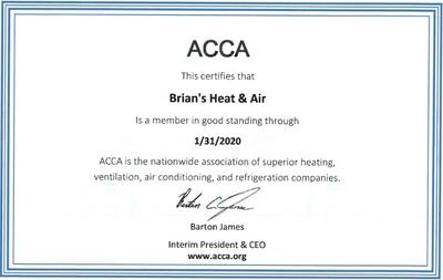 2020 ACCA Certificate